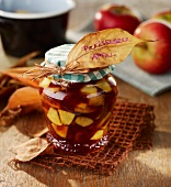 Cranberry and apple compote