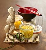 Preserved ginger