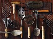 Alte Küchenutensilien