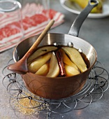 Irish stewed pears
