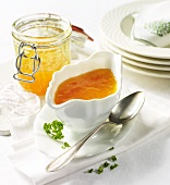 Tangy apricot sauce