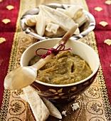 Libanesisches Auberginenpüree