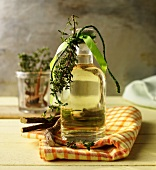 Provençal herb liqueur with thyme and liquorice