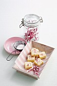 White chocolate confectionery