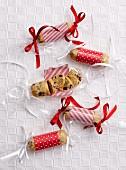Sweet Christmas salami