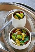 Couscoussalat mit Gemüse und Zitronenconfit (Tunesien)