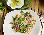 Noodle salad with beef (Vietnam)