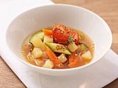 Zuppa di patate (potato soup, Italy)