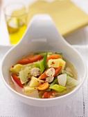 Gemüseeintopf mit Knoblauch