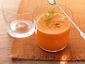 Fennel, carrot and apple juice