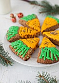Frosted Carrot Scones