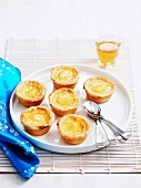 Chinese sweet egg tarts