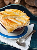 Beef Pie with Puff Pastry Crust