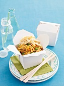Singapore noodles (fried noodles with curry), China