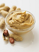 peanut butter with fresh peanuts
