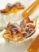 Squid appetiser