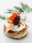 Blini mit Kaviar