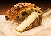 French cheese and olive bread