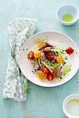 Zucchini and Cherry Tomato Salad