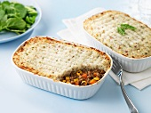 Shepherd's pie with vegetables