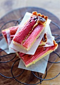 Tart with Rhubarb