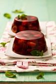 Gelatina di ciliegie (cherry jelly, Italy)