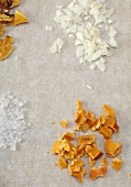 Dried Orange Peel, Shaved Coconut and Sea Salt