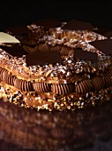 Paris Brest with chocolate cream, France