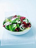 Italian bitter leaf salad