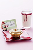 A mince pie for Father Christmas