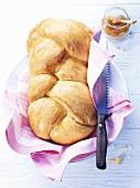 Swiss Hefezopf (sweet bread)