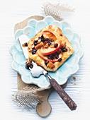 Quark turnover with apple and raisins