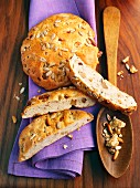 Tyrolean nut flatbreads with sunflower seeds