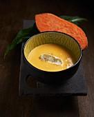 Cream of sweet potato soup