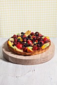 A Whole Fruit Tart