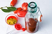 Home-made curry ketchup