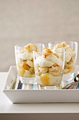 Parfait - Banana, Toasted Coconut, Cream, Mango, Yoghurt