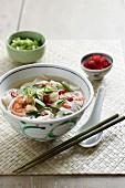 Vietnamese Prawns - Chili, Spring Onion, Vietnamese Mint, Noodles