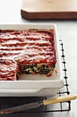 Canneloni Bake - Ricotta, Spinach, Tomato Pasta