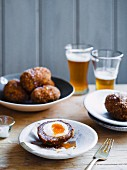 Venison Scotch eggs