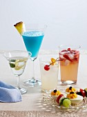 A retro cocktail party