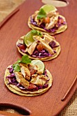 Grilled Chicken Tacos on Corn Tortillas
