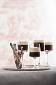 Pharisee (coffee with rum and cream)