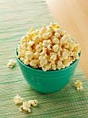 Bowl of white cheddar popcorn