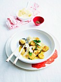 Gnocchi with sage butter