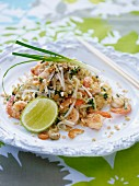 Pad Thai (noodle stir-fry with prawns, Thailand)