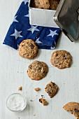 Salzige Chocolate Chip Cookies