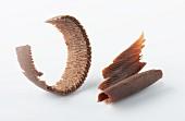 Chocolate shavings (close-up)