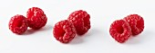 Six raspberries