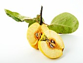 Two quince halves